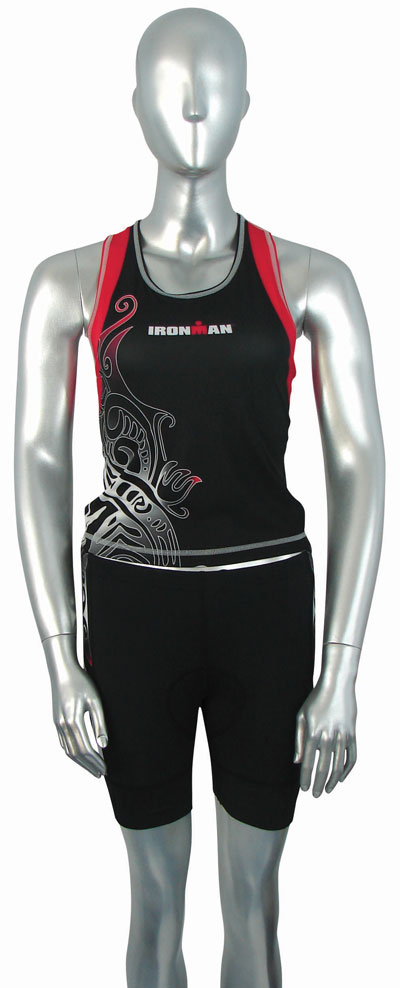 Womens Tri Tops from the Ironman Tattoo Range.